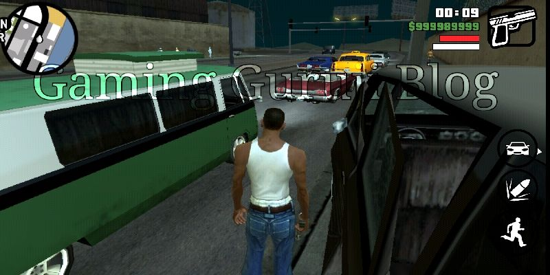 gta san andreas cheats apk