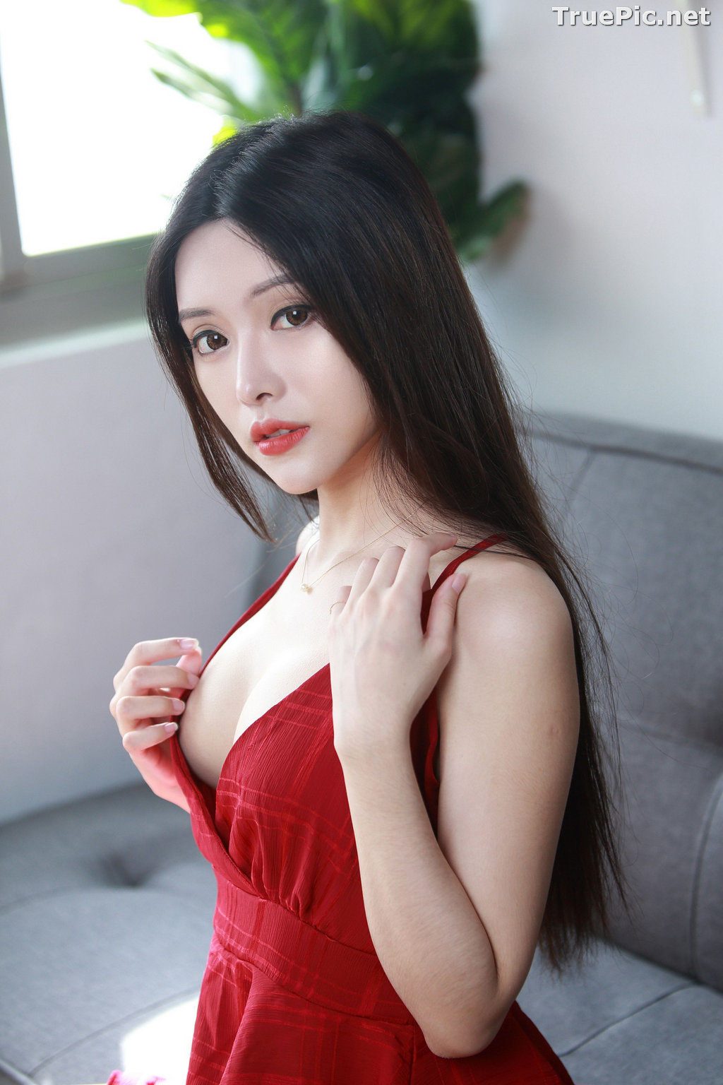 Image Taiwanese Model – 莊舒潔 (ViVi) – Sexy and Beautiful Christmas Girl - TruePic.net - Picture-7