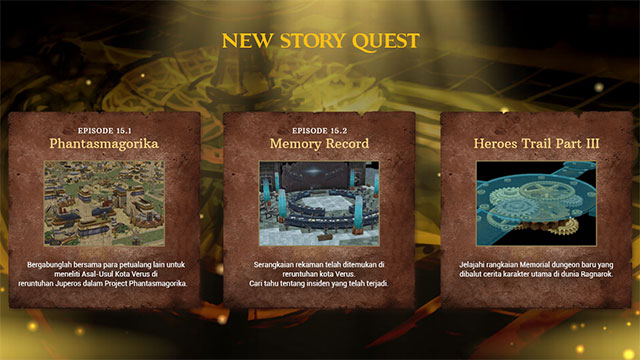 New Story Quest