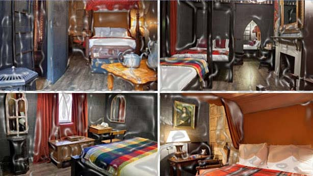 """If you want to experience to sleep at Hogwarts, then The Harry Potter, Georgian House Hotel is a place to visit. Its rooms are designed taken inspiration from the books of Harry Potter.   They correctly call their rooms as """"Enchanted Chambers"""" and """"Wizard Chambers"""". In order to get the Harry Potter appeal, each room is featured with inquisitive artifacts, cauldrons, stone walls and tainted glass windows."""