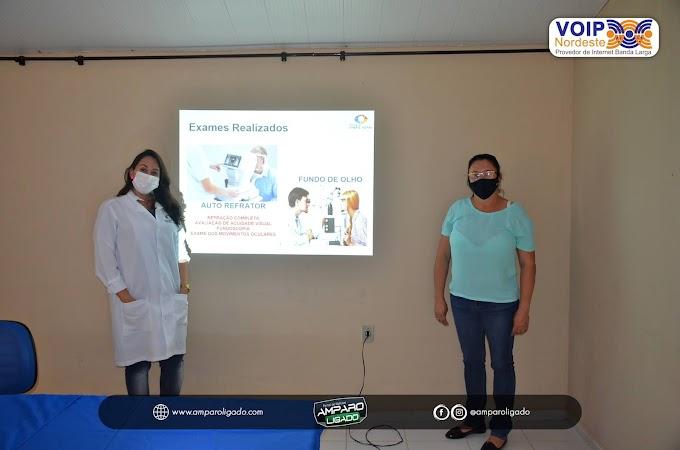 Secretaria de Saúde de Amparo oferece exames oftalmológicos gratuitos em parceria com projeto Visão Total