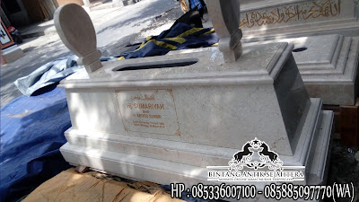 Harga Kuburan Marmer, Makam Batu Marmer, Gambar Kijing Marmer