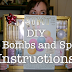 STMT DIY Bath Bombs and Spa Set Gift with Instructions