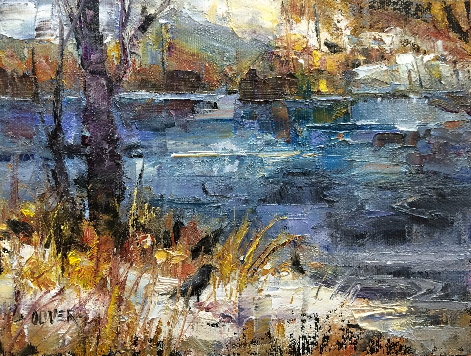julie ford oliver paintings