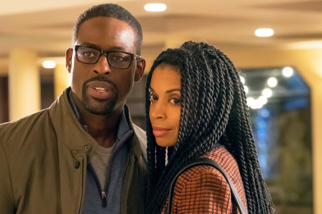 """Sterling K. Brown and Susan Kelechi Watson in """"This Is Us"""""""