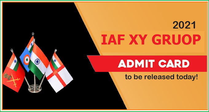 AirForce XY Group 01/2022 Admit Card Download
