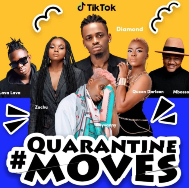"(Video) ""Quarantine"" – Diamond Platnumz, Rayvanny, Mbosso, Lava Lava, Queen Darleen, Zuchu"