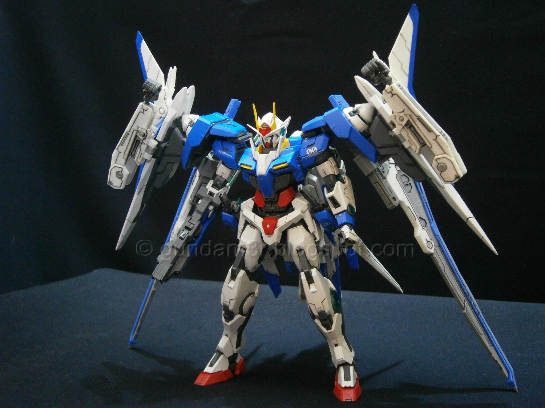 Add On Xn Raiser Resin Conversion Kit For 00 Gundam Mg Review Part 3 Gundam3r