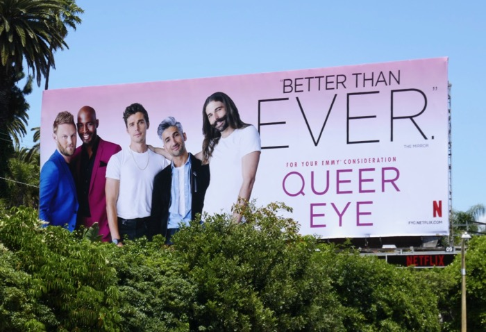 Queer Eye 2019 Emmy FYC Better than ever billboard
