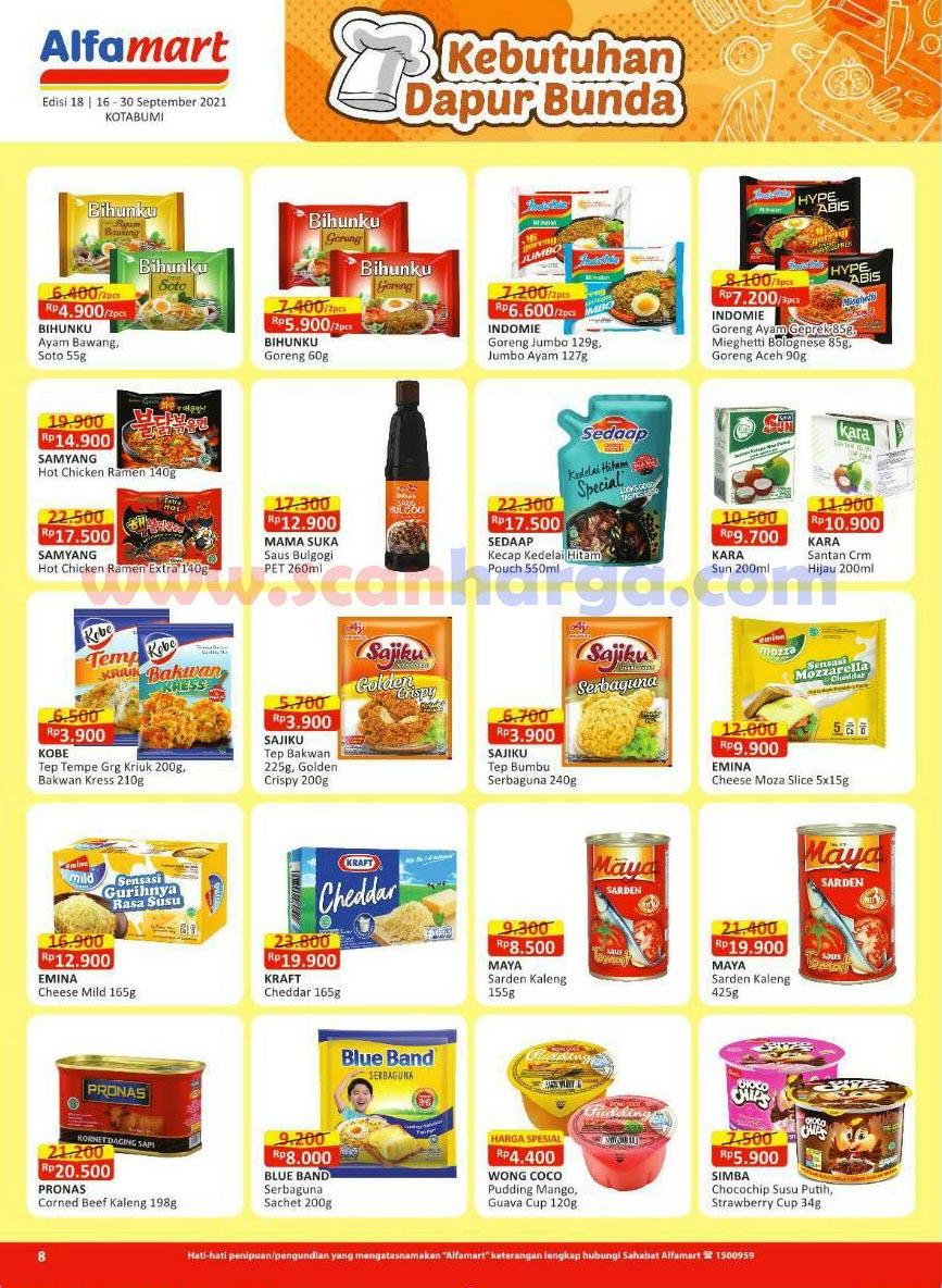 Katalog Alfamart Promo Terbaru 16 - 30 September 2021 9