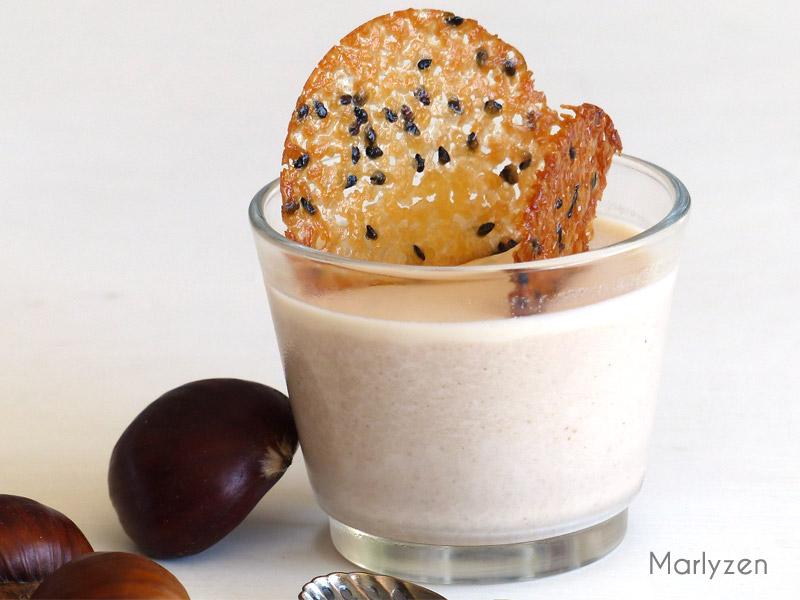 Panna cotta à la crème de marron