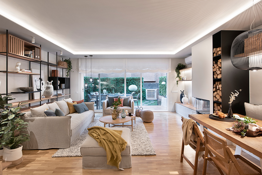 Contemporánea y moderna: la renovación de una casa familiar ¡perfecta!