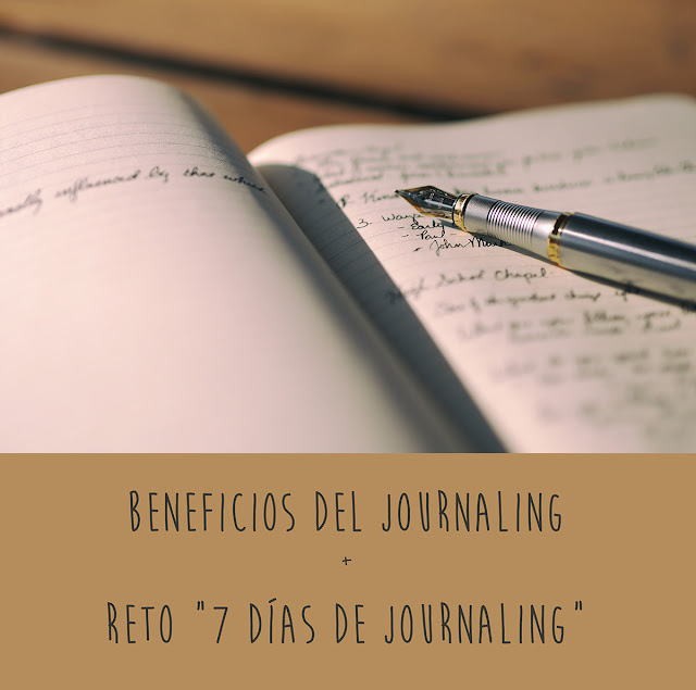 Beneficios del journaling - Reto 7 días