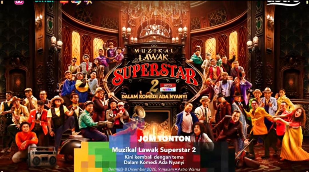 Senarai Peserta Muzikal Lawak Superstar 2020 (Biodata)