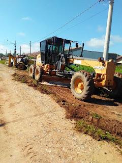 Prefeitura de Registro-SP dá continuidade aos serviços de manutenção da cidade
