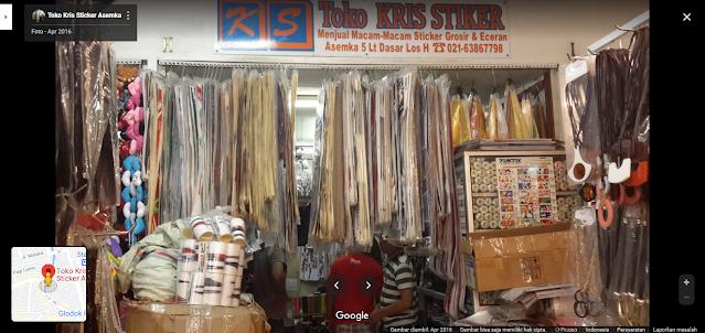Kris Sticker Asemka, Toko Grosir Stiker Terlengkap di Jakarta
