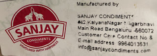 Sanjay Condiments Customer Care