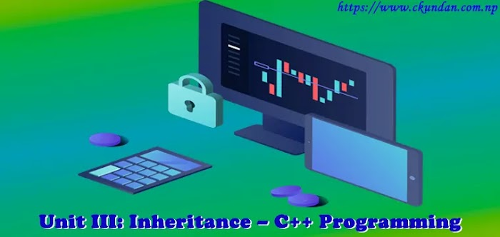 Unit III: Inheritance – C++ Programming