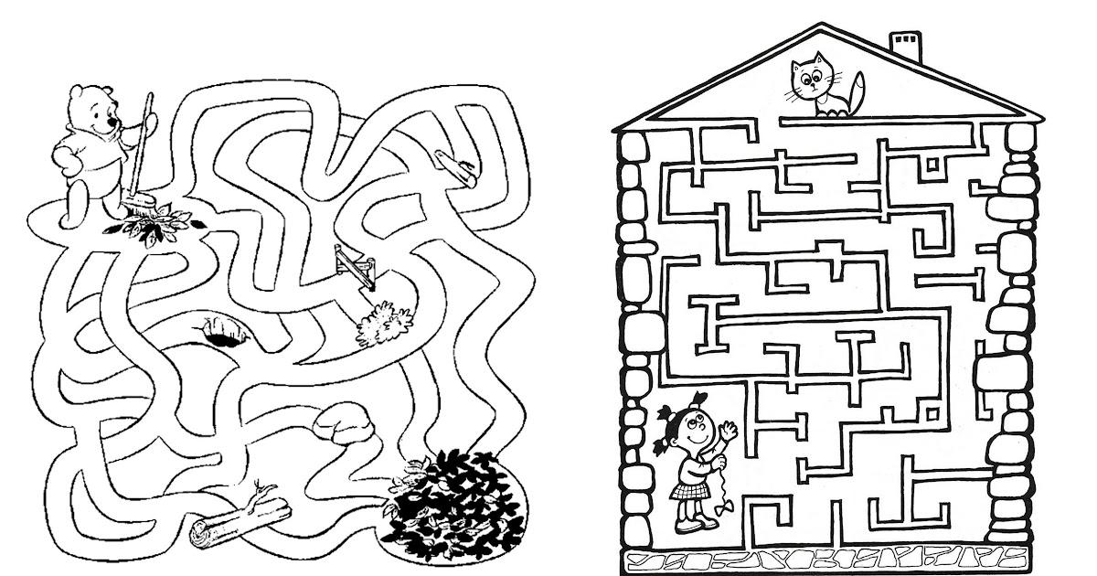Картинки лабиринты для детей 4-5 лет, печалью смешные картинки