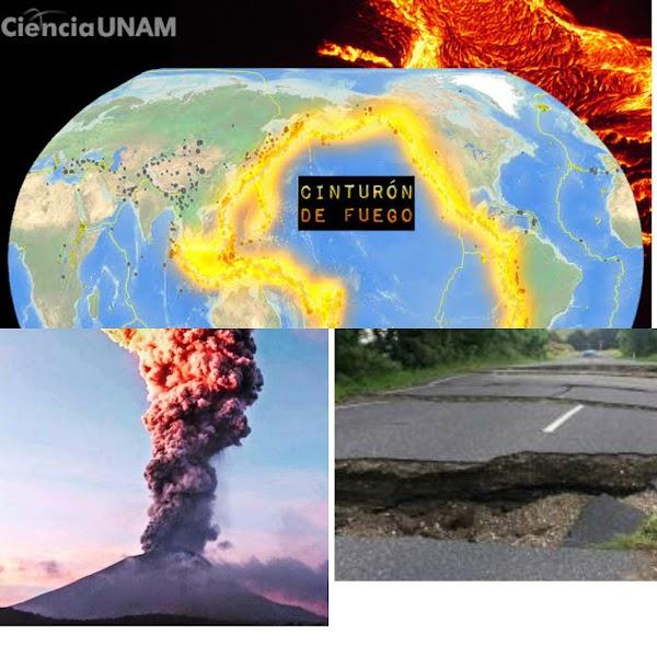 EL CINTURON DE FUEGO SE ESTA ACTIVANDO: sismos fuertes y una erupcion volcanica en 24 horas.