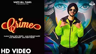 Checkout Harman Maan New song Crime lyrics penned by Navv Maan