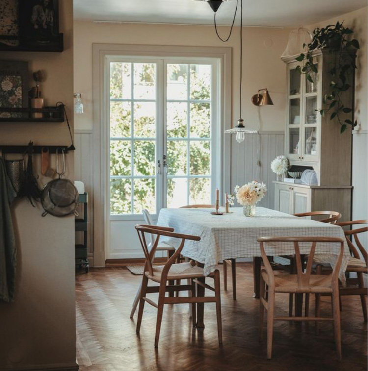 Emelie's Serene Swedish Home With Notes of Green