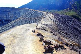 Ijen Crater Caldera