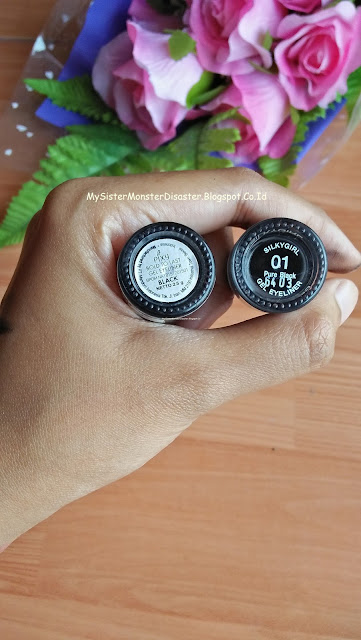 (REVIEW) Eye Liner Gel Battle Pixy Vs Silky Girl