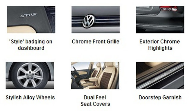 Volkswagen Vento Style Features