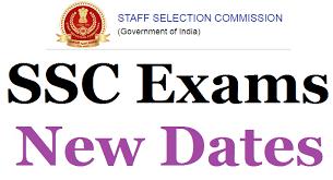 SSC EXAM DATE SCHEDULE  FOR SI DELHI POLICE, SSC CHSL, SSC CGL 2021