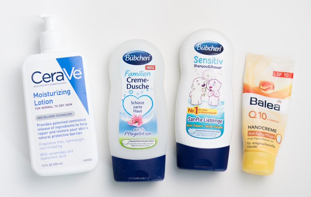 Aufgebrauchte Favoriten Oktober 2016 Körperpflege