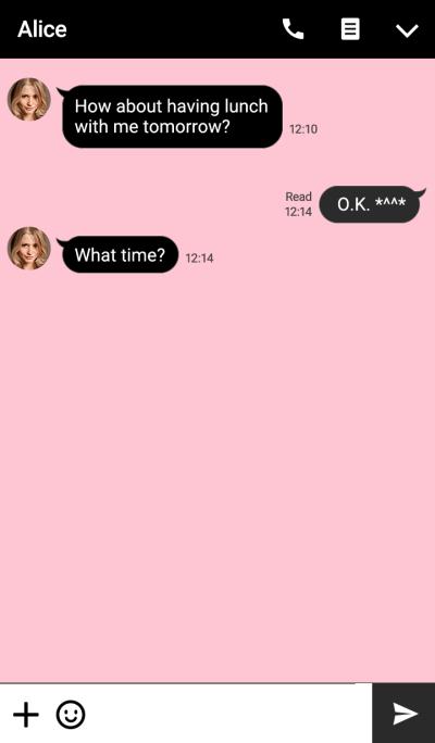 SIMPLE(black pink)V.10