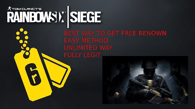 free rainbow six renown hack