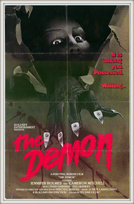 Original THE DEMON artwork courtesy of Gold-Key Entertainment