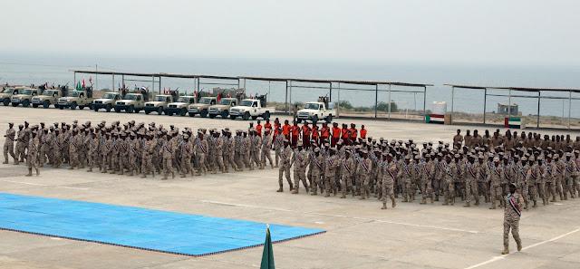 """مأرب .. وصول العديد من المقاتلين تابع """"المجلس الانتقالي"""" في اليمن الى مدينة مارب بكامل عتادهم العسكري"""