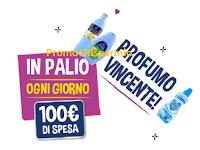 Logo Profumo Vincente : con Paglieri ogni  giorno vinci buoni spesa, buoni carburante e...