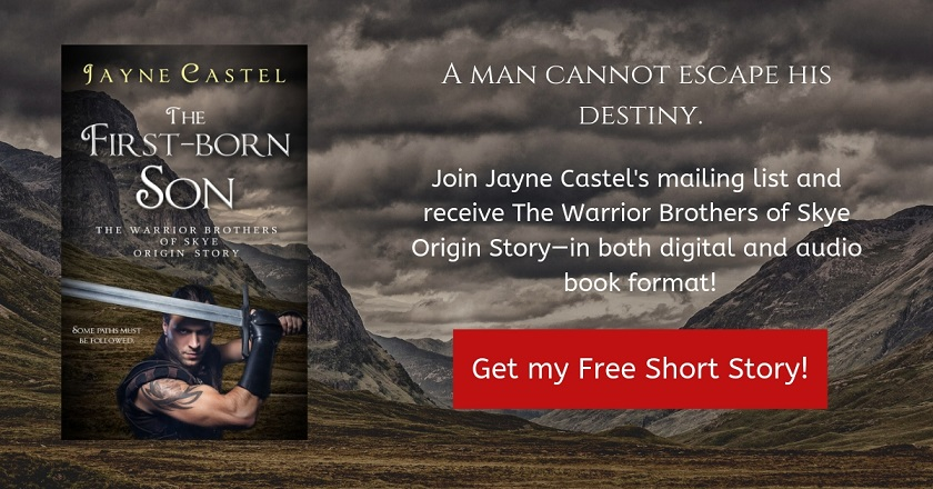 Get the FREE Origin Story to The Warrior Brothers of Skye series