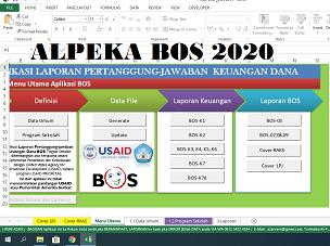 Aplikasi Alpeka BOS 2020 Versi Kemdikbud Dengan 12 Komponen
