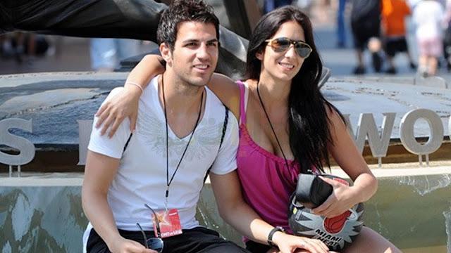 اللبنانية دانييلا سمعان والنجم الإسباني فابريغاس
