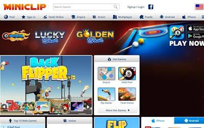 موقع Miniclip للعب اون لاين