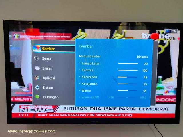 Setting Brightness TV Samsung 32 Inch