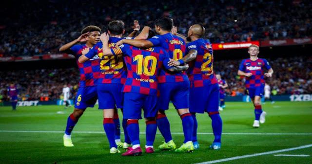 مباراة برشلونة وبلد الوليد بث مباشر