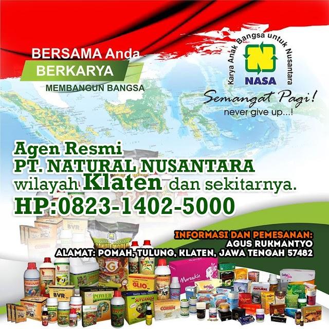 Alamat Agen/Distributor Nasa Pomah, Klaten.