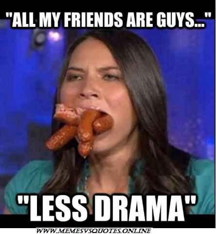 Less drama