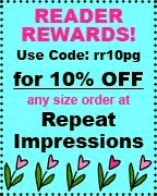 Save 10% at Repeat Impressions!