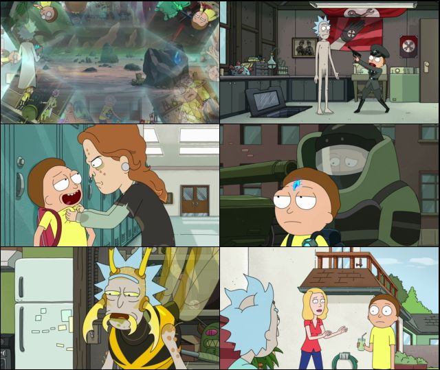 Rick and Morty Temporada 4 Completa HD 1080p Latino Dual