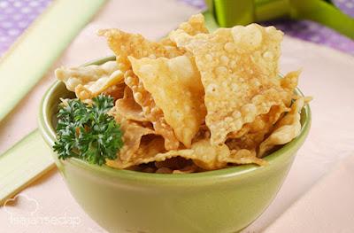 Resep kue bawang pedas