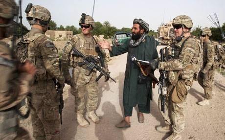 القوات الأمريكية تقوم بقتل طفلين وابوهم فى افغانستان