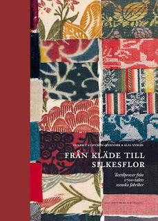 """""""Från kläde till silkesflor"""", Swedish book of 18th century fabric samples"""