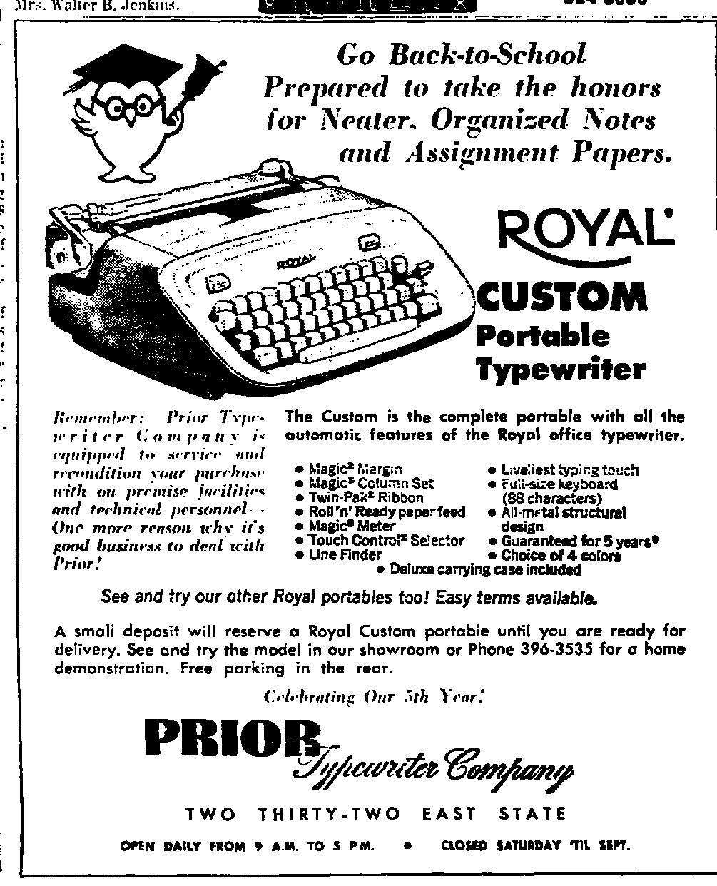 Royal Typewriters: February 2014